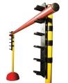 acople para picas, soporte picas, soporte altura picas, soporte circuito picas