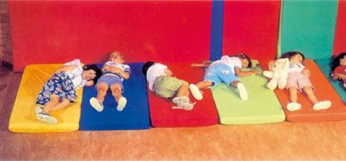 colchoneta infantil, colchoneta guarderia, colchoneta niños