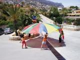 paracaidas, paracaidas recreativo, paracaidas 3,5 m