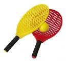raquetas plastico, raquetas playa, set raquetas