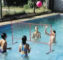 voleibol piscina, voleibol flotante, voleibol acuatico