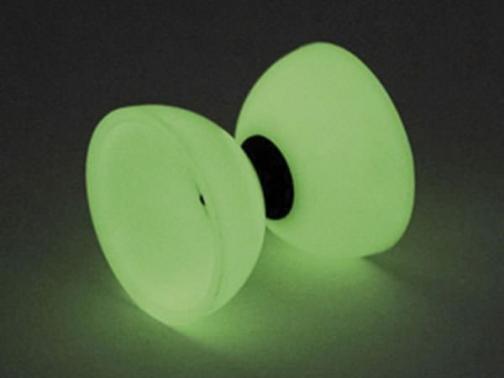 diabolo fluorescente, diabolo fosforito, daibolo, diabolo caucho