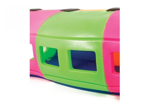 tren tunel, tren reptacion, tren infantil