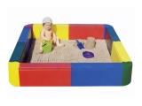 piscina de bolas, piscina cuadrada bolas, piscina sensorial cuadrada bolas