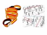 banda elastica, banda delimitadora elastica, banda delimitacion, banda marcaje