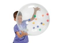 activity ball, balon gigante con bolas en su interior, bola bigbol