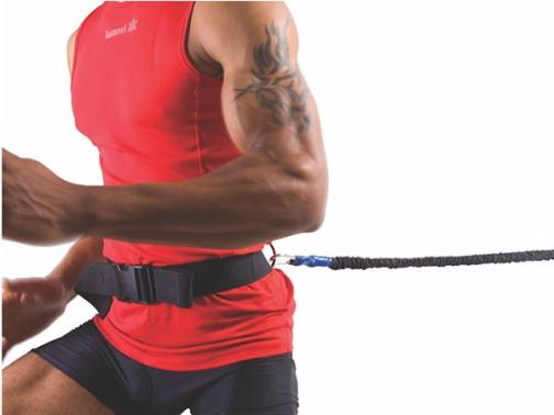 cinturon de resistencia, cinturon carrera, elastico resistencia