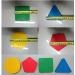 figuras geometricas, multiform set, fichas geometricas