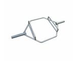 hex bar, trap bar, barra hexagonal
