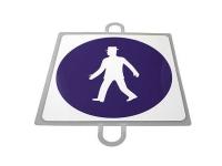 señal educacion vial, panel señalizacion trafico, señal trafico peatones