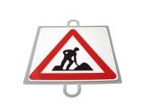 señal educacion vial, panel señalizacion trafico, señal trafico obras