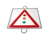 señal educacion vial, panel señalizacion trafico, señal trafico semaforo