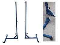 postes badminton, postes badminton trasladables, postes badminton moviles