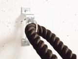 enganche cuerda funcional, colgador cuerda funcional, colgador a pared