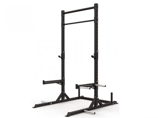 squat rack dominadas