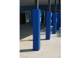 protector columna, protector columna cuadrada, protector columna rectangular