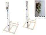 postes tenis, postes tenis trasladables, postes tenis aluminio
