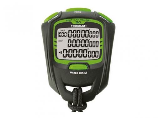 cronometro, cronometro 30 memorias, cronometro competicion, cronometro 3 lineas