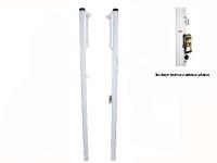 postes voleibol, postes voley, postes voleibol fijos aluminio