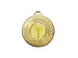 medalla deportiva, medalla de oro, medalla