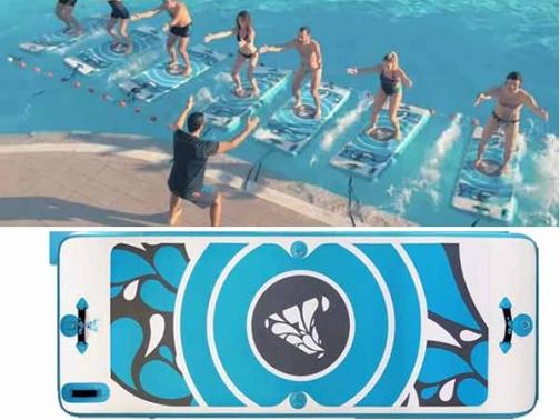 aqua mat, aquamat, tabla yoga acuatico, aqua fit, talba acuatica