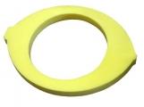 tapiz forma limon, tapiz foam limon, tapiz limon piscina