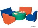 figura foam, sofa foam, butaca foam, asiento foam, material psicomotricidad