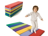 colchoneta arco iris, colchoneta infantil, colchoneta plegable