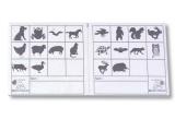 tarjetas control orientacion, tarjetas control animales orientaci