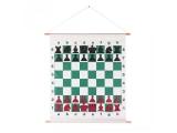 tablero master ajedrez, tablero aprendizaje ajedrez, tablero ajedrez pared