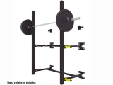 squat rack de pared, rack de pared plegable, rack crossfit