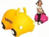 jumping car, coche infantil hinchable, hop, coche kanguro
