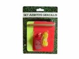 set arbitro, tarjetas arbitro, kit arbitro