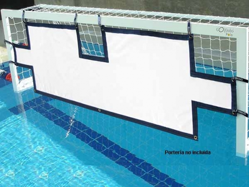 lona remates waterpolo, lona piscina waterpolo