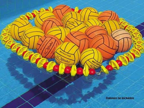 guarda balones waterpolo, guarda pelotas waterpolo