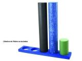 base guarda cilindros pilates, base para cilindros de pilates