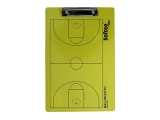 pizarra tactica baloncesto, carpeta tactica baloncesto amarilla