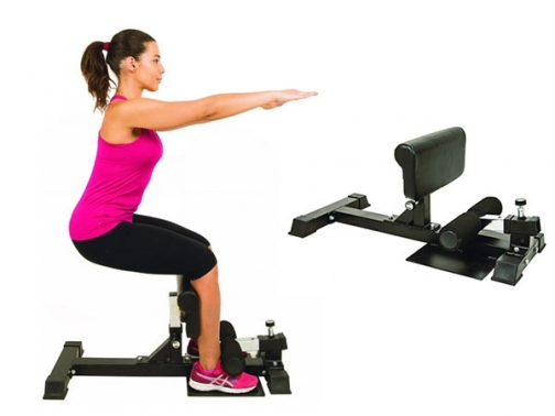 banco sissy squat, sissy squat bench, banco sentadillas