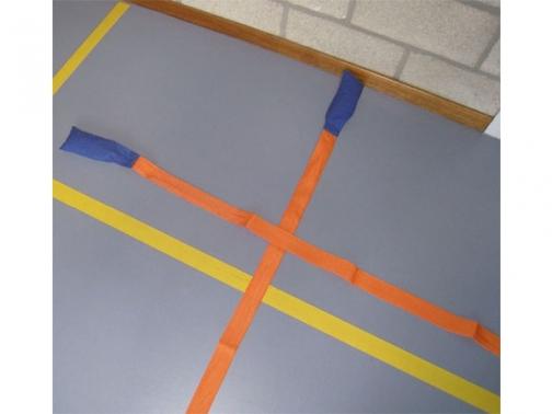 bandas de facil marcaje, bandas marca campos, marcar campos