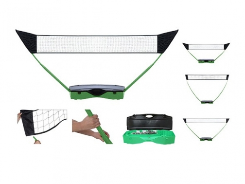 set multideporte, set badminton, set tenis, set voleibol