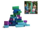 bloques construccion gigantes carton, ladrillos construccion carton
