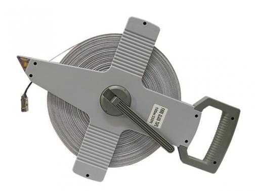 cinta metrica, cinta metrica 100 m, cinta metrica con empuñadura