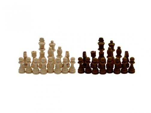 fichas ajedrez, fichas madera ajedrez, fichas ajedrez 11 cm