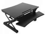 sit stand desktop workstation, estacion de trabajo