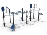 outdoor funtional training set 3, estructura street workout, estructura funcional exterior