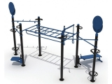 outdoor funtional training set 2, estructura street workout, estructura funcional exterior