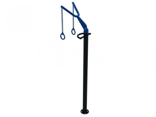 columna anillas street workout, columna anillas estructuras funcionales outdoor