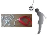 entrenamiento futbol, kit entrenamiento pases de cabeza