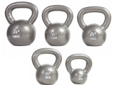 Kettlebells fabricadas en hierro fundido, pesas rusas, pesas