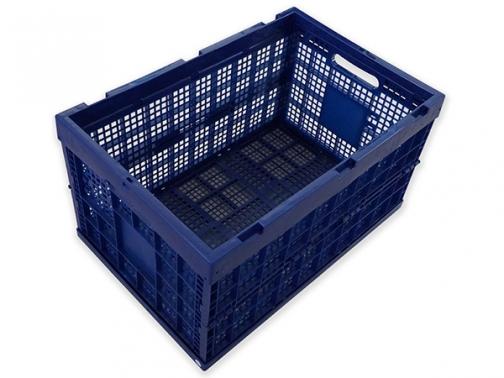 caja plegable plastico 60x40x33, caja plegable plastico, caja almacenaje material